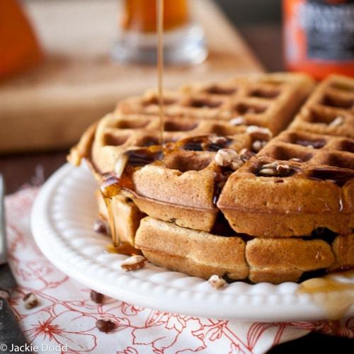 Pumpkin Ale Waffles | The Beeroness
