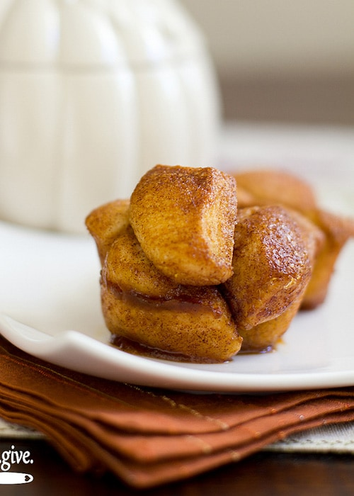 Pumpkin Spice Monkey Bread | Bake Love Give