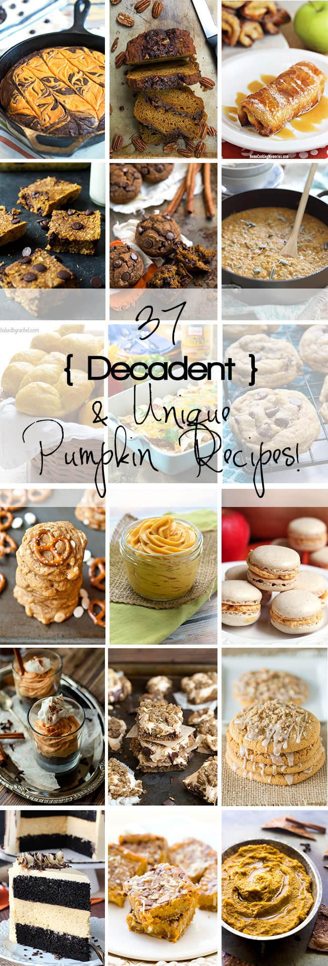 37 unique pumpkin recipes that we all need to add to our 'To Make' list, asap!