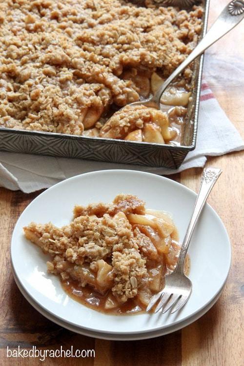 Apple Pear Crisp | Baked by Rachel