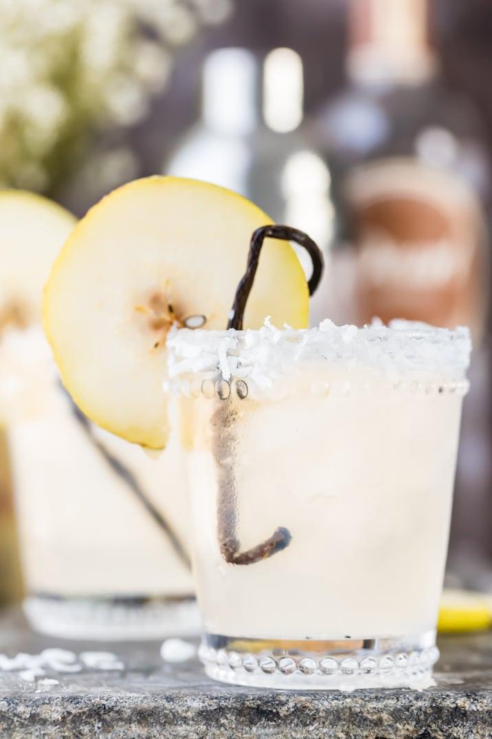 coconut vodka cocktail