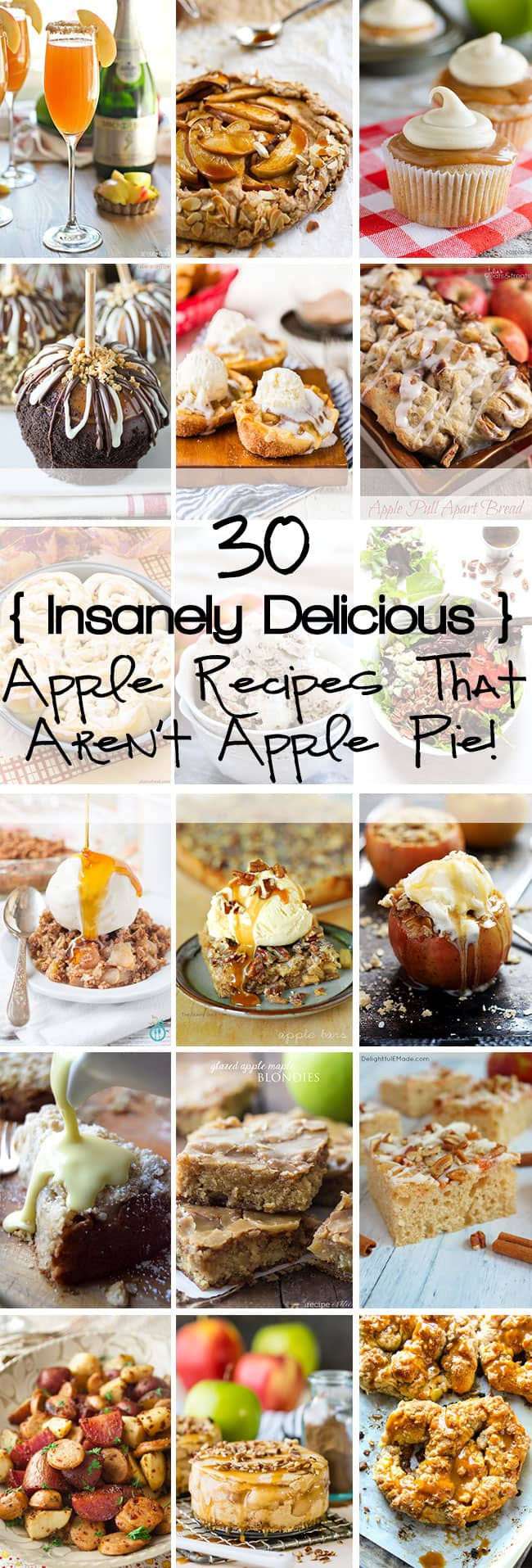 23 Insanely Delicious Apple Recipes That Aren't Apple Pie