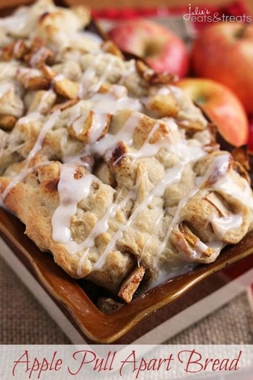 Apple Pull Apart Bread | Julie's Eats and Treats