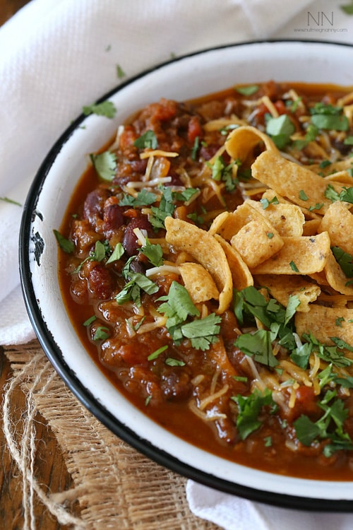 Pumpkin Chili | Nutmeg Nanny