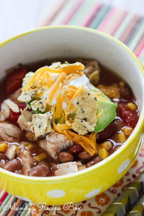 Chicken Enchilada Soup | Mandy's Recipe Box