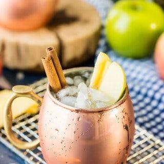 Apple Pie Moscow Mule