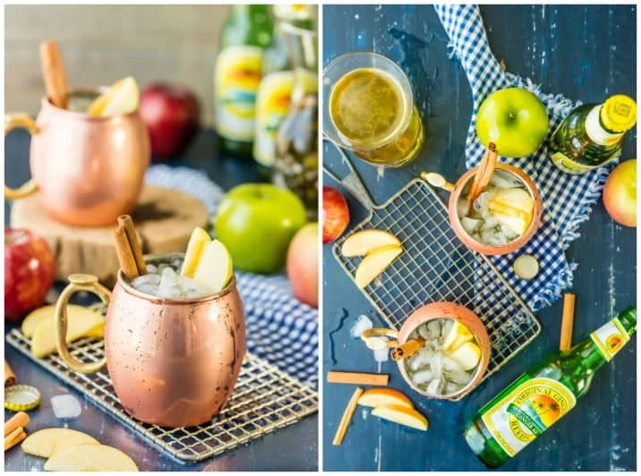 apple pie moscow mule collage 2
