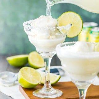 Margarita Ice Cream Float