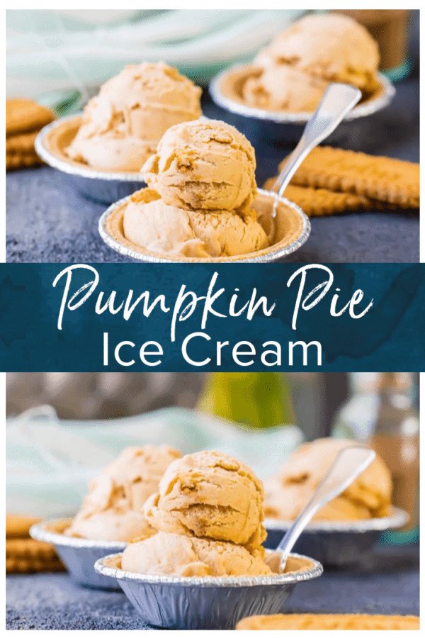 pumpkin pie ice cream pinterest photo