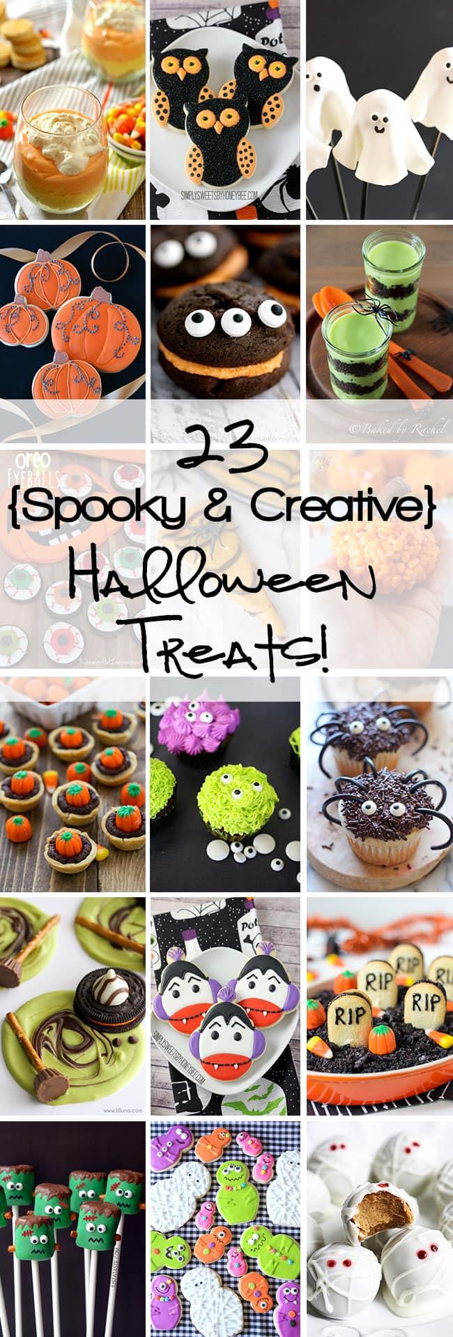 23 spooky creative halloween treats for Creative ideas for halloween treats