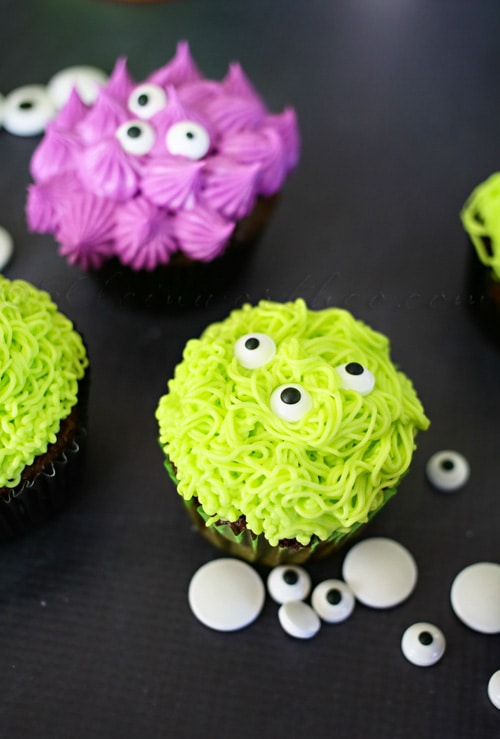 Monster Cupcakes | Lil Luna