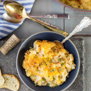 Super Easy 10 Minute Macaroni and Cheese {Cozy Date Night Recipe!}