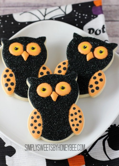 Halloween Owl Cookies | Simply Sweets by Honey Bee