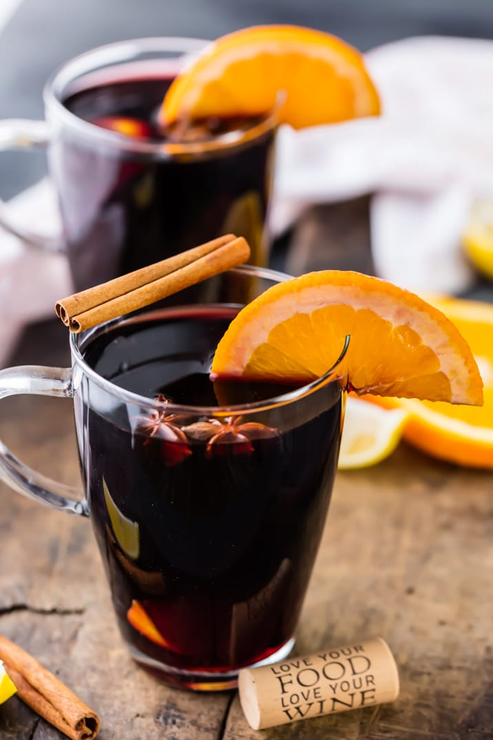 Holiday Spiced Wine recipe