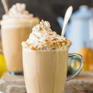 Pear Spice Latte!!!!! There's a new #PSL in town this Autumn! This delicious and festive hot drink recipe is just perfect and better than the Pumpkin Spice Latte :)
