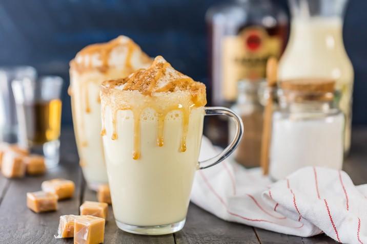 Salted Caramel Eggnog recipe