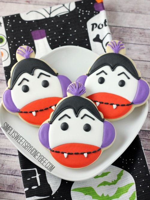Vampire Sock Monkey Cookies | Simply Sweets by Honey Bee