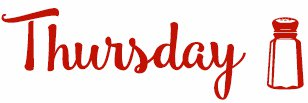Thursday new