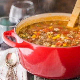 Copycat Carrabba's Sausage and Lentil Soup