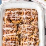 Super Easy Cinnamon Roll French Toast Bake