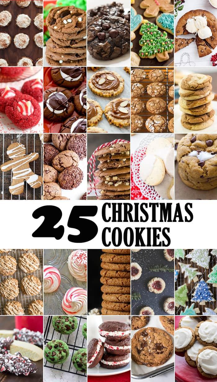 25 Christmas Cookies