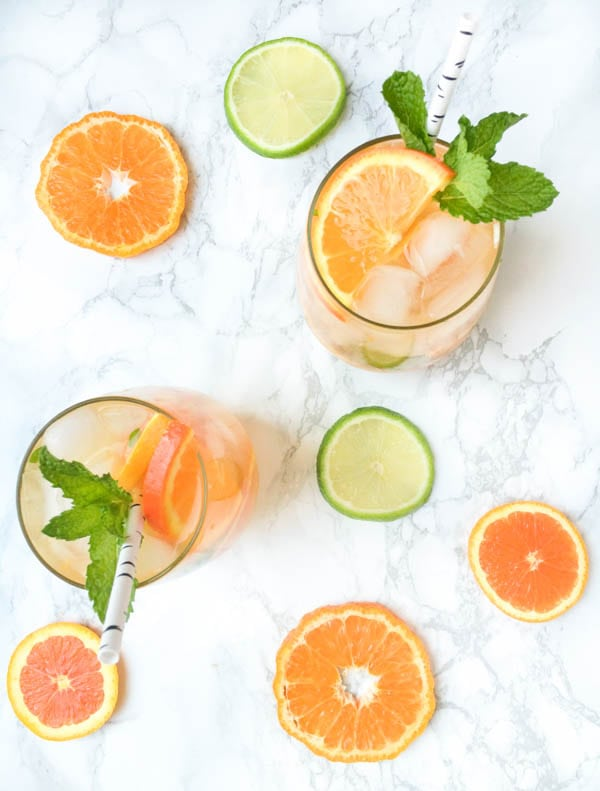 Orange Blossom Citrus Mojito | The Lemon Bowl