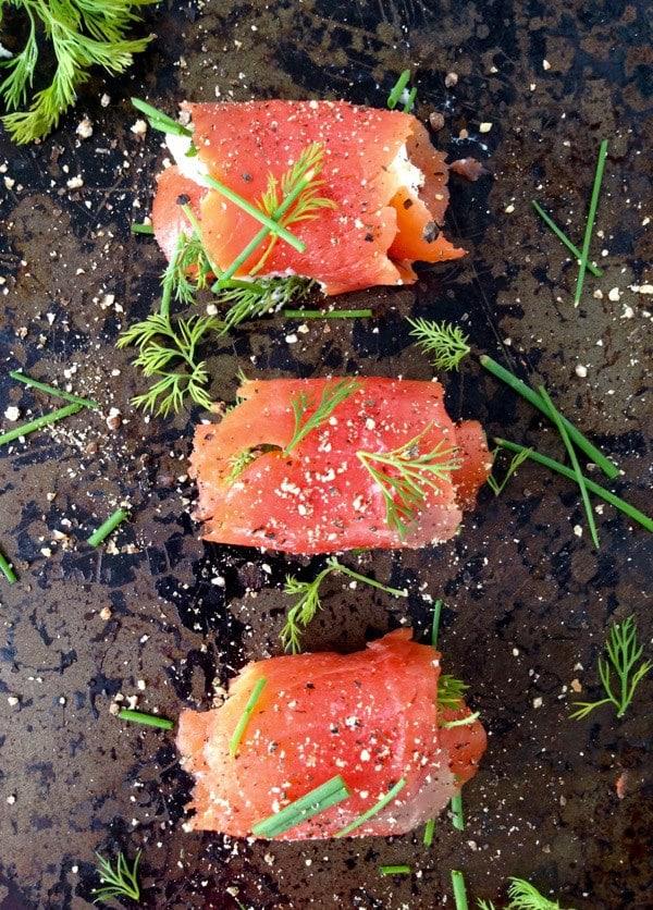 Smoked Salmon Appetizers | Ciao Florentina