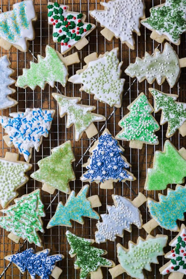 Holiday Sugar Cookies and DIY Colored Sugar | The View From Great Island