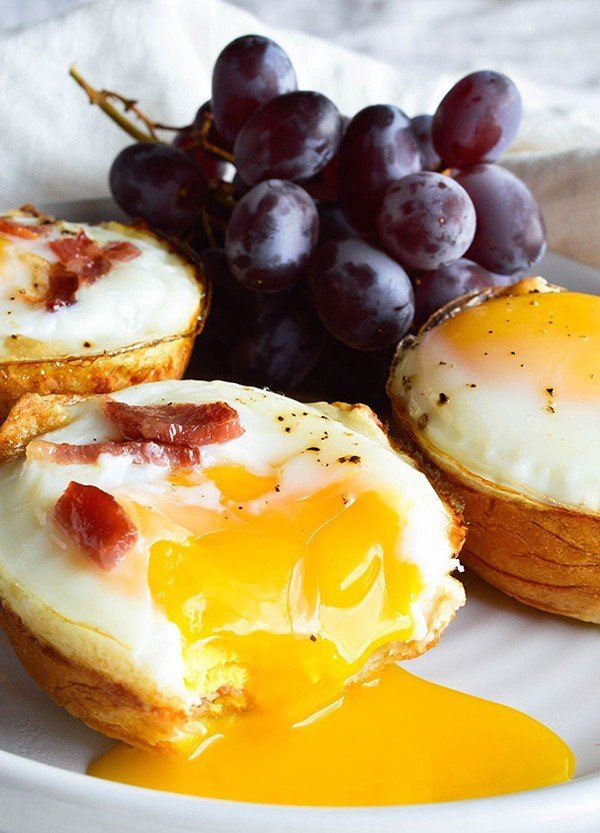 Bacon Egg Breakfast Cups | Wonky Wonderful