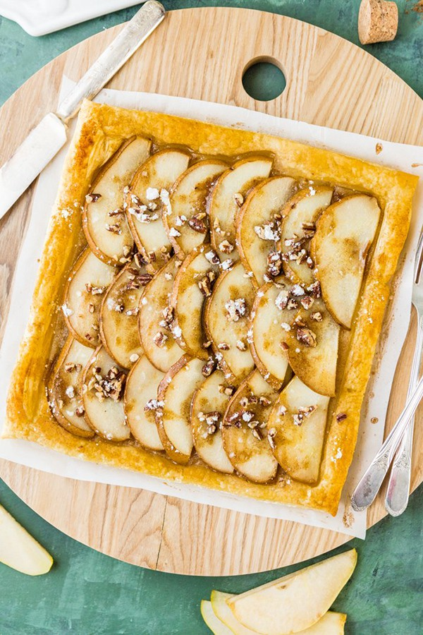 Super Easy Pear Tart | The Cookie Rookie