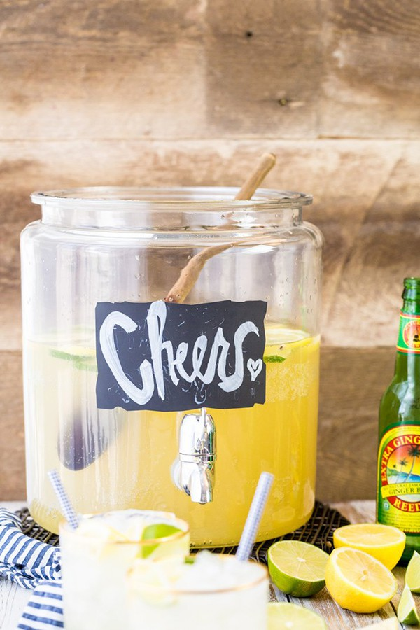 Ginger Beer Party Punch | The Cookie Rookie