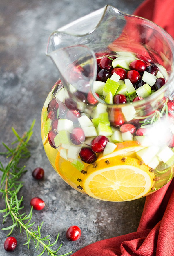 Holiday Sangria | The Blond Cook