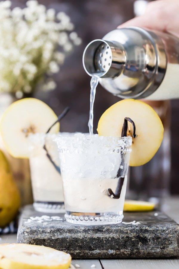 Pear Coconut Cooler | The Cookie Rookie