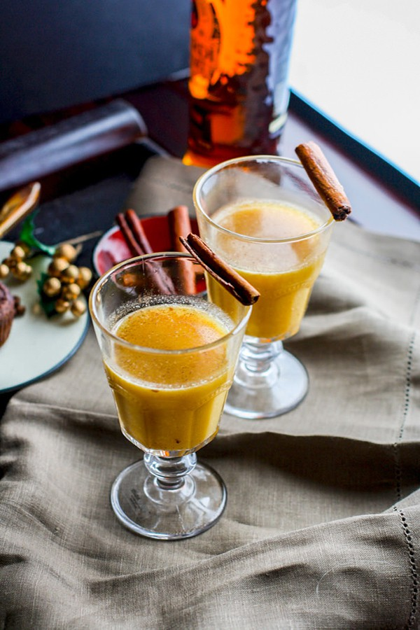 Spiced Pineapple Rum Hot Toddy | Cotter Crunch