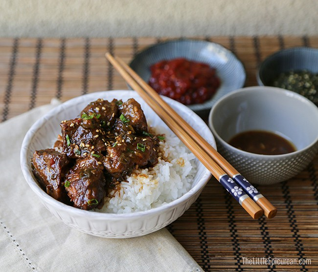 Slow Cooker Asian Braised Beef | The Little Epicurean