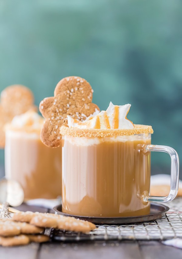 Slow Cooker Gingerbread Latte | The Cookie Rookie