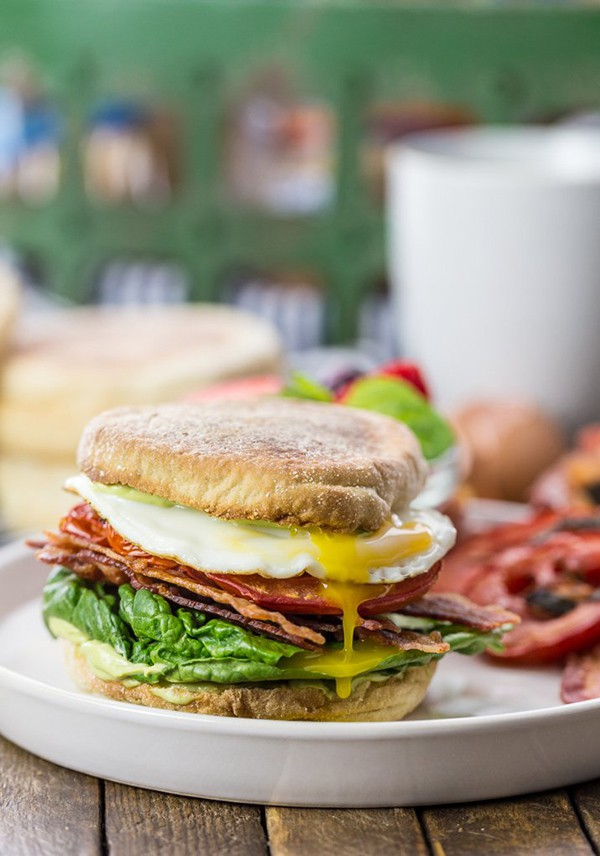 The Ultimate Breakfast BLT | The Cookie Rookie