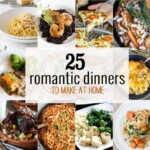 25 Romantic Dinners
