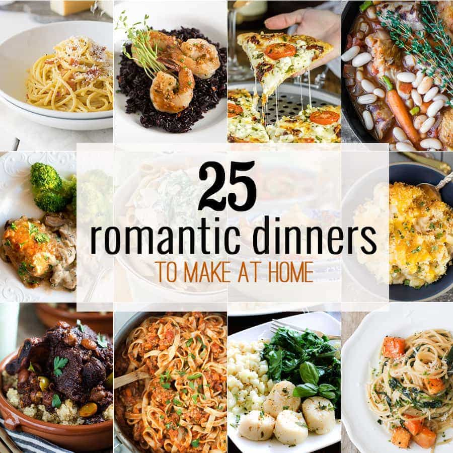 10 Romantic Dinners to Make at Home - The Cookie Rookie®