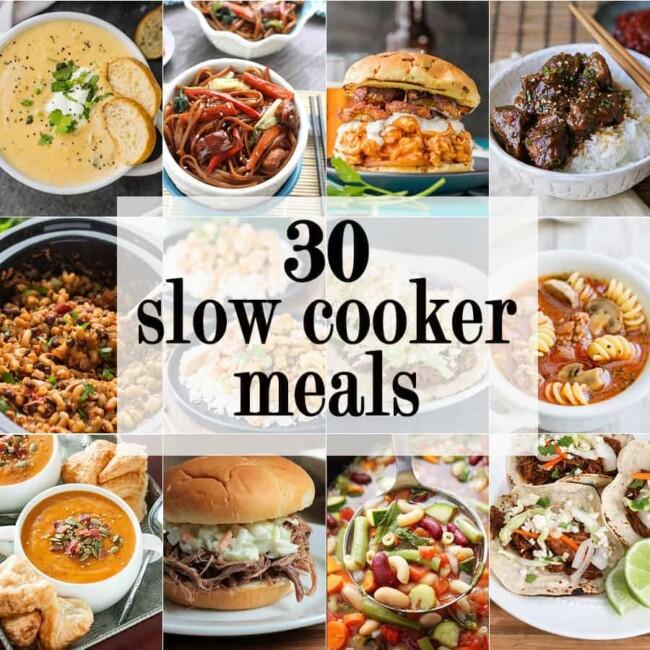 30 Slow Cooker Meals