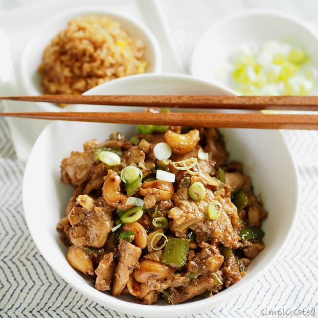 Cashew Chicken | Simply Sated