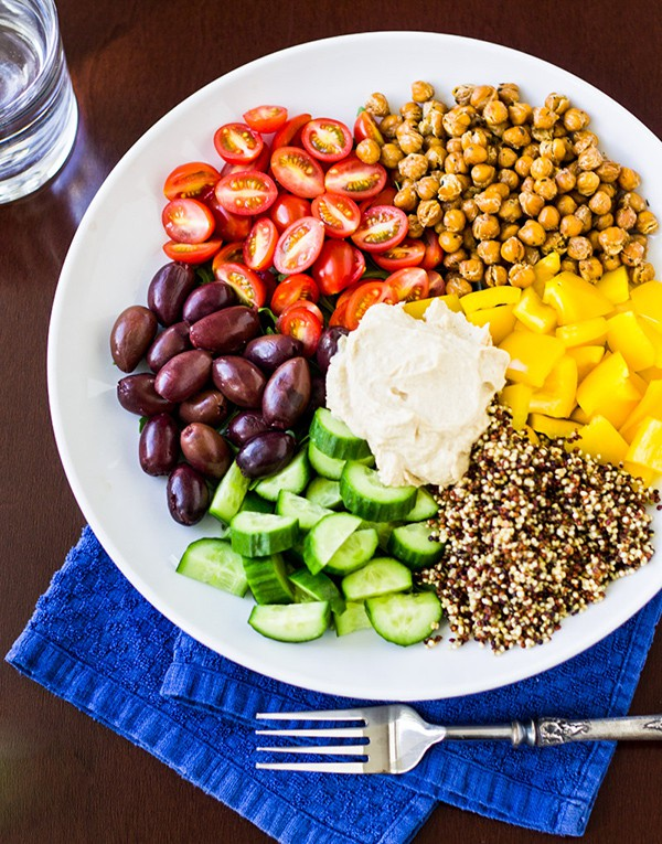 Mediterranean Vegan Bowl | Culinary Hill