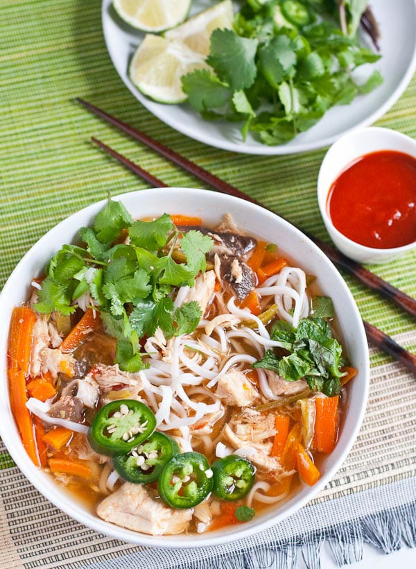 Asian Chicken Noodle Soup | Neighbor Food Blog