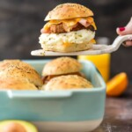 The Ultimate Baked Breakfast Sandwich Sliders