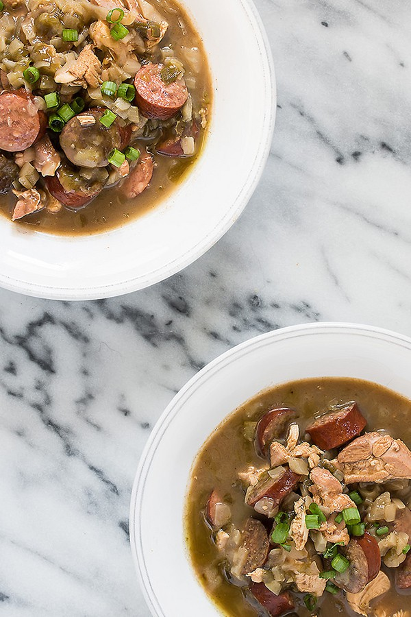 Chicken and Sausage Gumbo | Bake Love Give