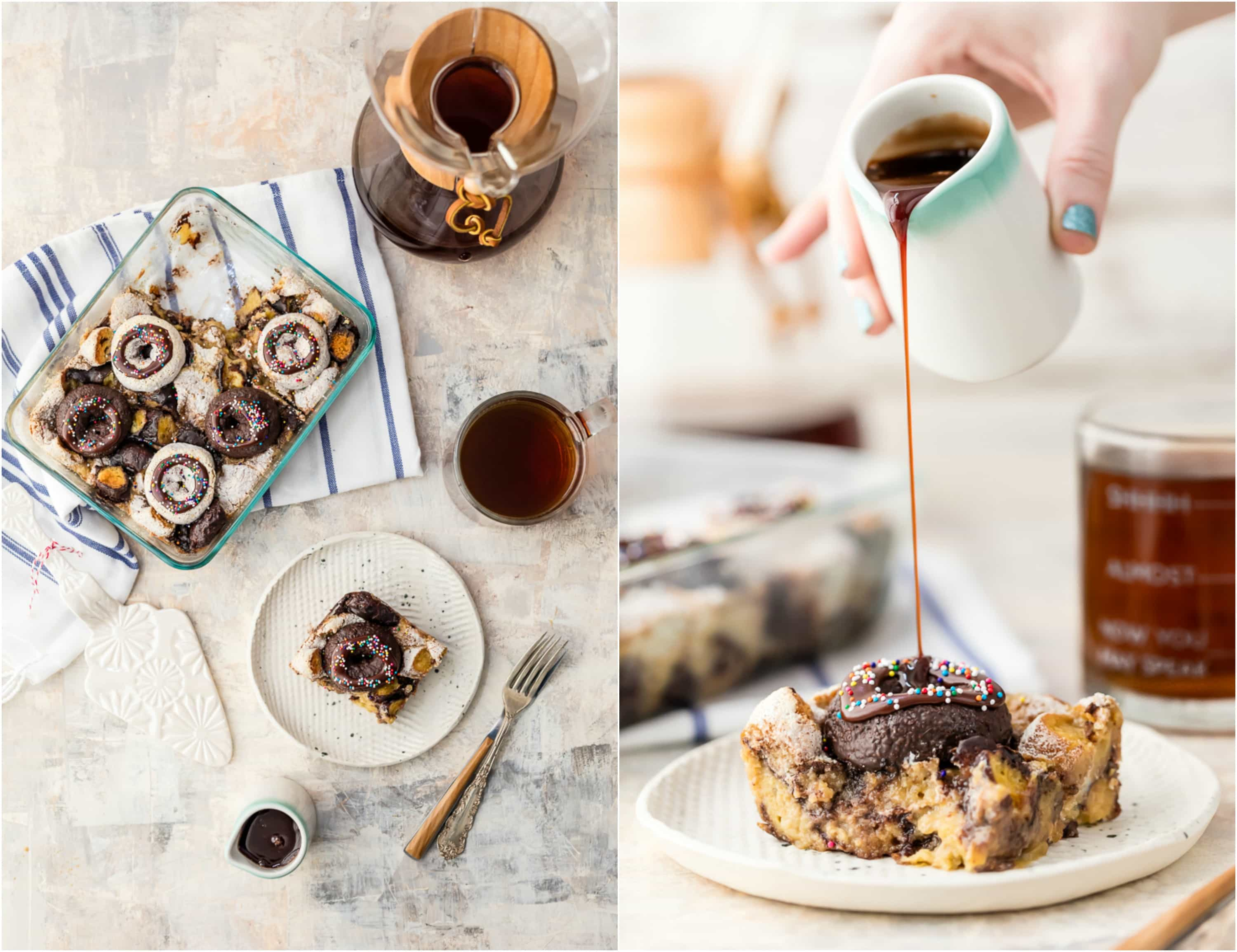 Coffee and Donuts Breakfast Bake - The Cookie Rookie®