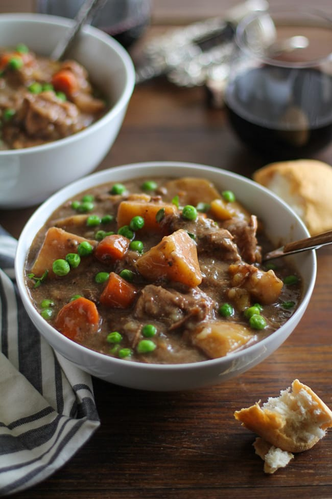 Crock Pot Beef Stew | The Roasted Root