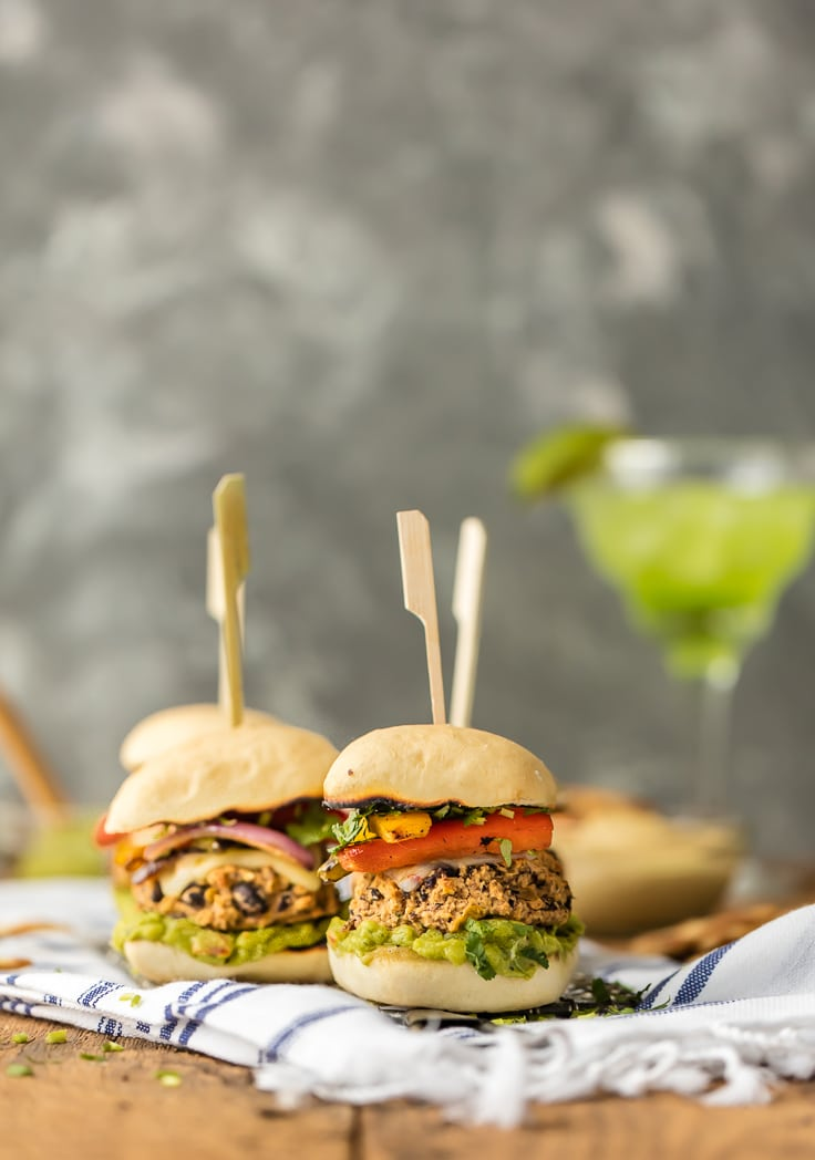black bean veggie sliders