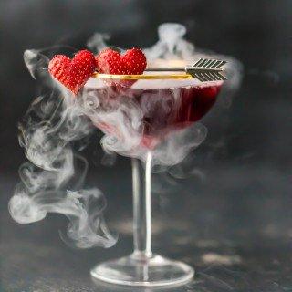 Love Potion #9 Martini (Triple Berry Martini)