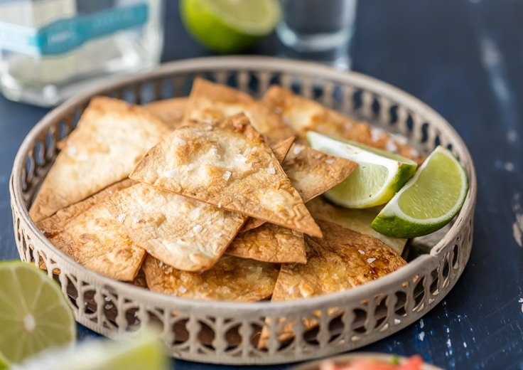 a basket of tequila lime tortilla chips